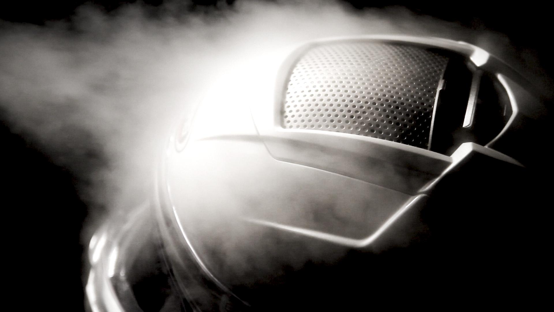 Motorbike helmet in the flux of airflow
