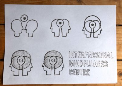 Interpersonal mindfulness centre logo sketches