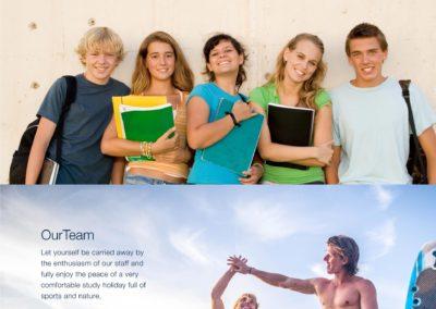 Surflanguage website page