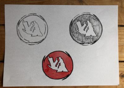 Nekobukai school of aikido logo
