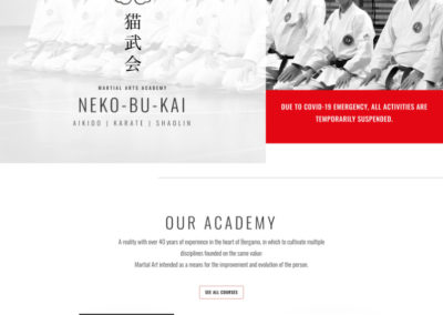 Nekobukai website page