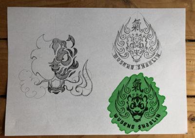 Nekobukai school of shaolin sketches